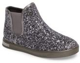 MICHAEL Michael Kors Girl's Ollie Rae Glittery Sneaker Boot