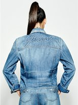 GUESS Originals 90s Icon Embossed Denim Jacket