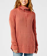 Carve Designs Women's Pullover Sweaters Red - Red Rock Kangaroo-Pocket Rockvale Sweater - Women