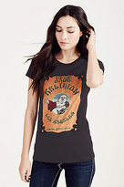 True Religion Concert Buddha Womens Tee