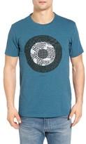 Ben Sherman Men's Optical Target Graphic T-Shirt
