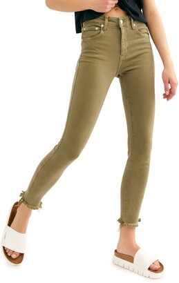 Free People High Waist Ankle Jeggings
