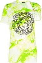 Versace Medusa-print tie-dyed cotton T-shirt