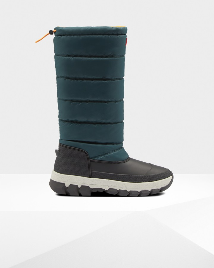 Hunter Women's Original Printed Insulated Tall Snow Boots