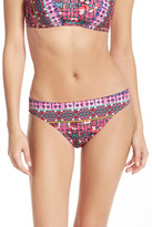 Nanette Lepore Sunset Charmer Print Bikini Bottom