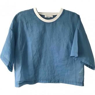 3.1 Phillip Lim Blue Cotton Top for Women