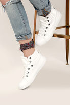 Blowfish Crawler White Canvas High Top Sneakers