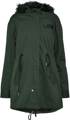 Walter W118 By Baker Jane Faux Fur-trimmed Cotton-gabardine Hooded Coat