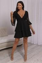 Jessica Wright Sistaglam LOVES NOVA BLACK DRESS