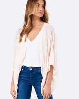 Forever New Sienna Embroidered Cape