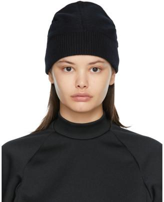 Random Identities Black Cashmere Flipped Beanie