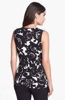 Classiques Entier Drape Neck Silk Blend Jersey Top