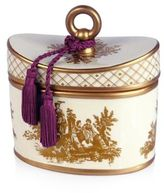 Seda France Seda FranceTM Rhubarb Pear Classic Toile 2-Wick Candle in Ceramic Container