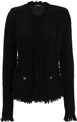 Intermix Ikaterina Black Knit Jacket