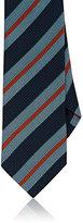 Drakes Drake's Men's Striped Silk Necktie
