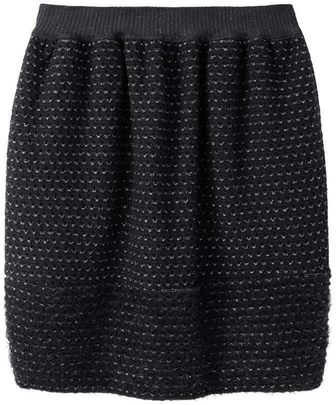Tsumori Chisato basket jersey skirt