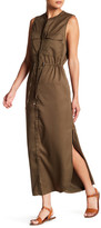 Soprano Sleeveless Pocket Midi Dress