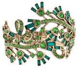 Oscar de la Renta Floral Baguette Bracelet