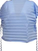 Issey Miyake Pleated Sleeveless Top