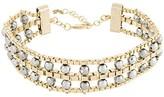 Rosantica Allodola faux gem embellished necklace