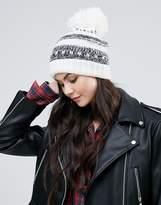 Alice Hannah Chunky Mono Beanie Hat