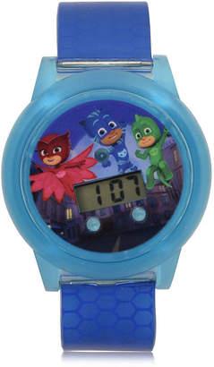 PJ MASKS PJ Masks Boys Digital Blue Strap Watch-Pjm4109jc