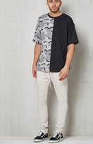PacSun Drop Skinny French Terry Moto Jogger Pants