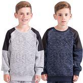 Skechers Boys Hoodie Sweats Jumper Kids Sweatshirts Pullover Top Size 8-13 Years