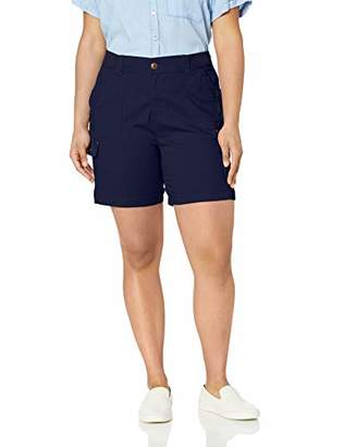 Lee Women's Plus Size Flex-to-Go Relaxed Fit Cargo Short