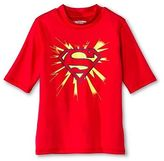 Spiderman Boys' Superman Rashguard - Red