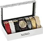 XOXO Women's XO9066 Analog Display Analog Quartz Black Watch