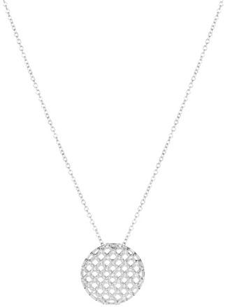 Nadri Lattice Pendant Necklace