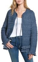Current/Elliott Women's The Cable Fringe Sweater