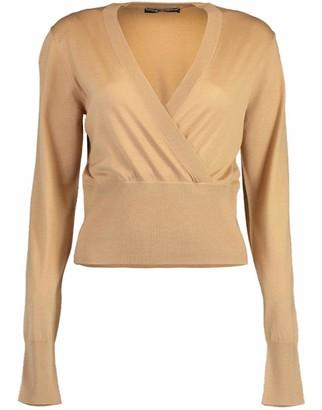 Dolce & Gabbana Long Sleeve V-Neck Pullover