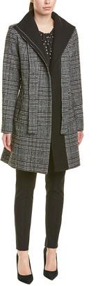 Tahari Asl Wool-Blend Coat