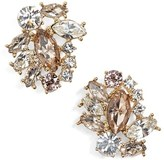 Marchesa Sunrise Cluster Stud Earrings