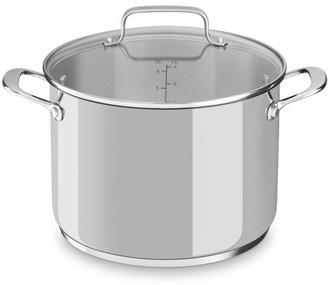 KitchenAid Stainless Steel 8.0-Quart Stockpot With Lid (Kc2S80Scls)