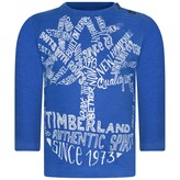 Timberland TimberlandBaby Boys Blue Organic Cotton Top