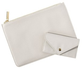 Cathy's Concepts Personalized Polyurethane Clutch and Envelope Wallet Set
