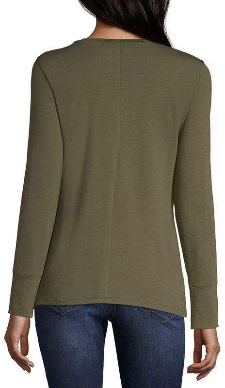 A.N.A Long Sleeve Essential Layering Tee - Tall