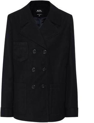 A.P.C. Sailor wool-blend jacket