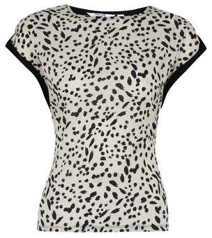 Dorothy Perkins Womens Petite Multi Coloured Abstract Print Top