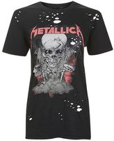 And finally **tall metallica nibble t-shirt