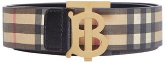 Burberry Vintage Check Monogram Belt
