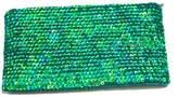 tu-anh Emerald Green Clutch