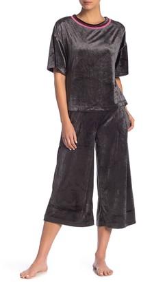 Nordstrom Crop Wide Leg Lounge Pants Exclusive)