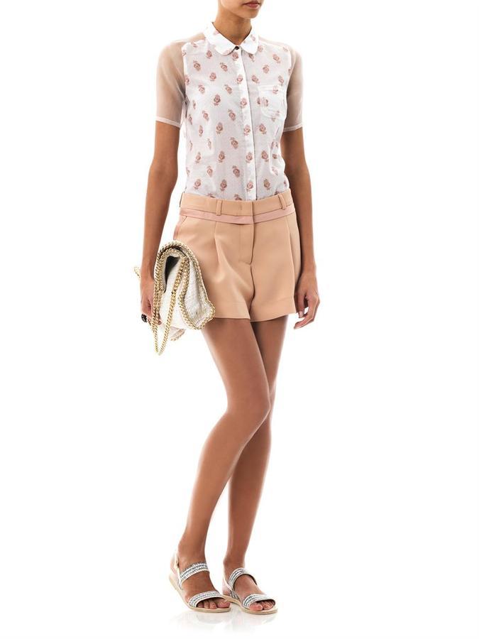 See by Chloe Tux shorts