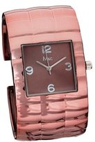 MC M&c Women's Elegant Copper Color Bangle Watch
