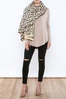 Simonetta Leopard Blanket Scarf