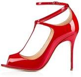 Arc-en-Ciel women's shoes peep-on T-strap high heel pump-us